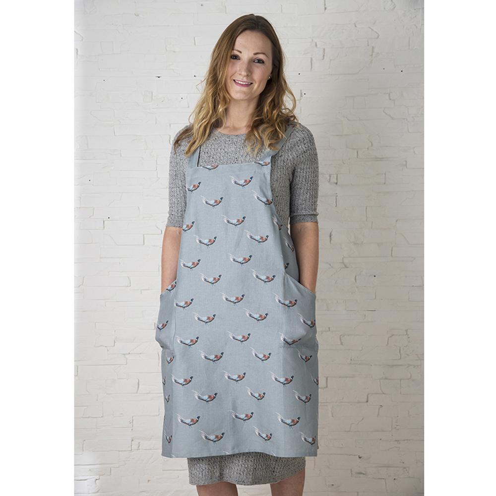 AGA Pheasant Linen Artisan Apron lowest price