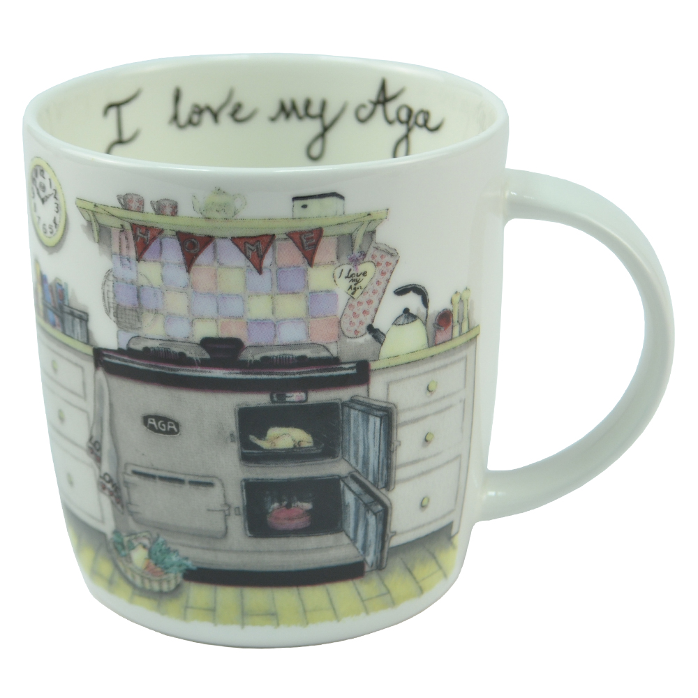 I Love My Aga Mug - Home Grown lowest price