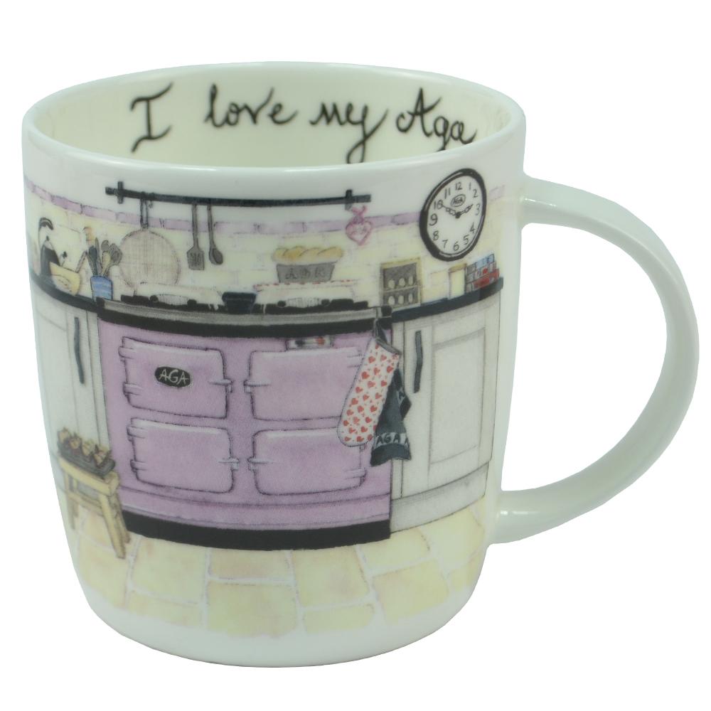 I Love My Aga Mug - Cake & Bake lowest price