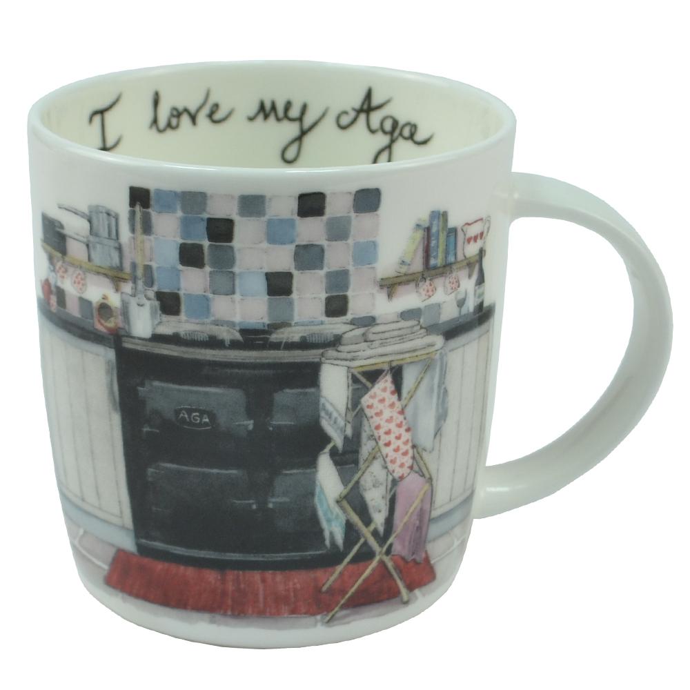 I Love My Aga Mug - Wash Day