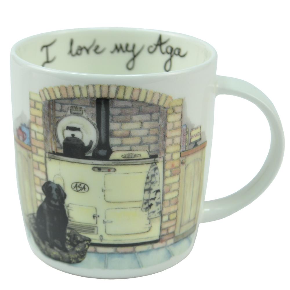 I Love My Aga Mug - Tea Time lowest price
