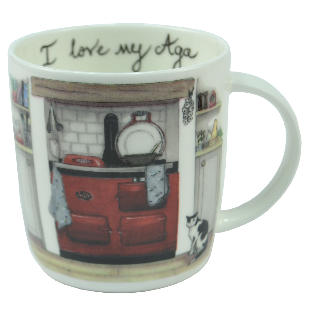 I Love My Aga Mug - The Cats Whiskers