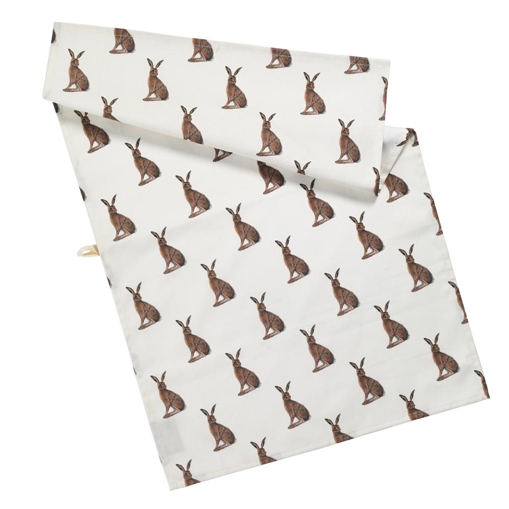 AGA Hare Tea Towel
