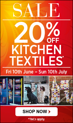 20% off Selected Textiles