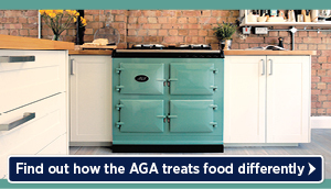 Find out how the AGA treats food differently