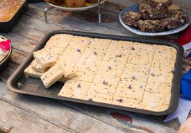 Large Hard Anodised Baking Tray