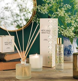Our New Home fragrance range