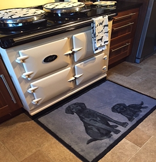 Fabulous rugs for the front of your aga