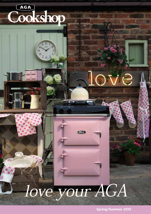 AGA Cookshop Spring Summer 2015 Brochure